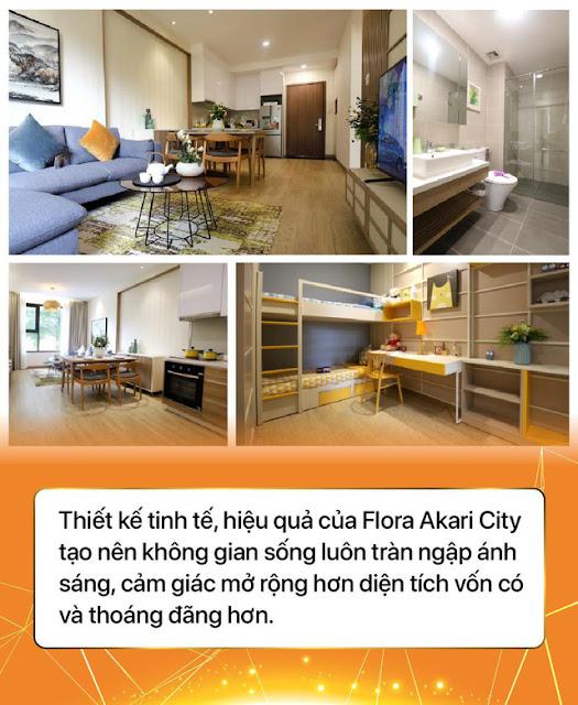 Ảnh thiết kế căn hộ Akari City