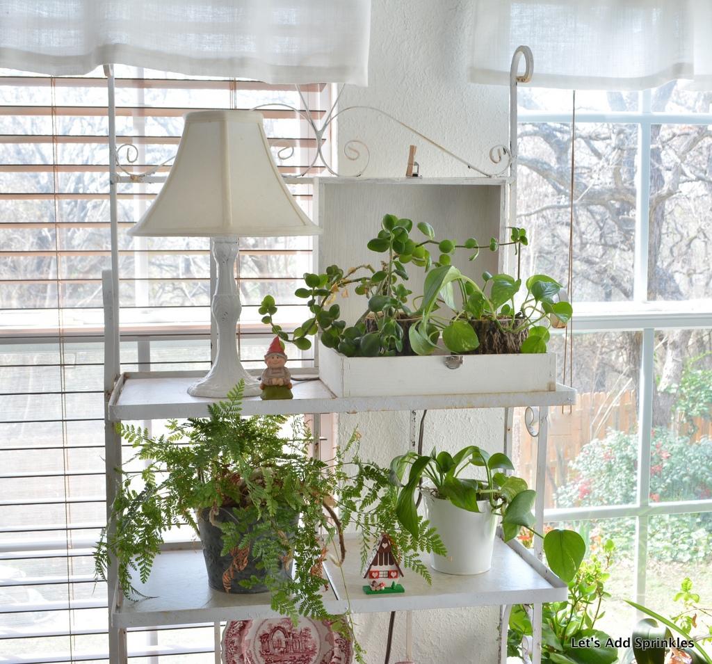 Let 39 s add sprinkles fairy garden room for Garden room 4 seasons