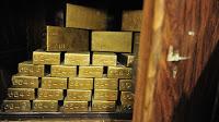 Gold surged