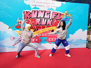 Kung Fu Run 2017: Paduan Olahraga, Seni Beladiri, dan Charity