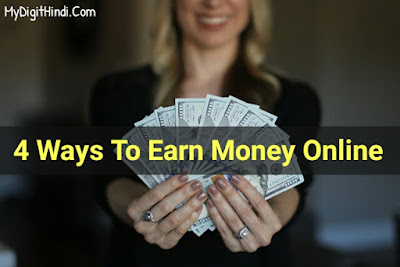 4 ways to earn money online