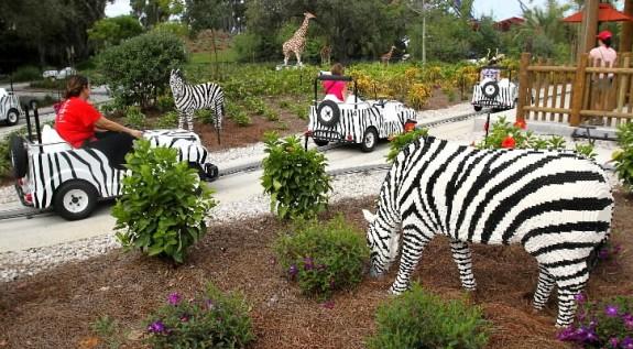 Parque Legoland Florida Orlando - Animais Safari
