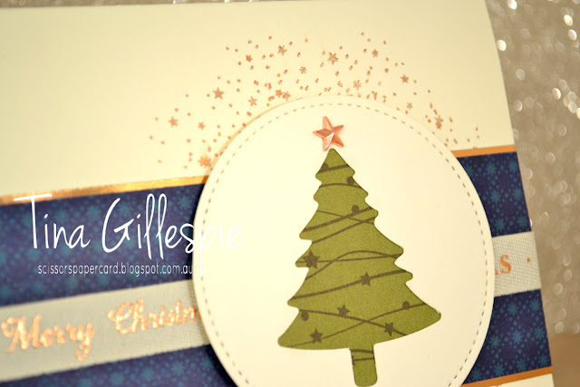 scissorspapercard, Stampin' Up!, Art With Heart, Heart Of Christmas, Christmas, So Many Stars, Night Before Christmas DSP, Celestial Copper Delicata