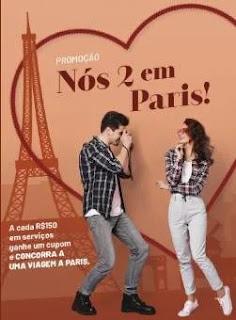 Promoção Arranjos Express Dia dos Namorados 2019 - Viagem Paris