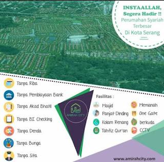rumah syariah Amirah City Serang Banten