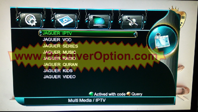 1506TV SCB4 MENU TYPE NEW SOFTWARE WITH JAGUER IPTV SERIES