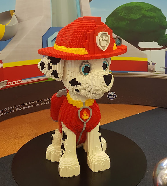 Blackburn #Brickburn Paw Patrol LEGO Marshall character in Blackburn library
