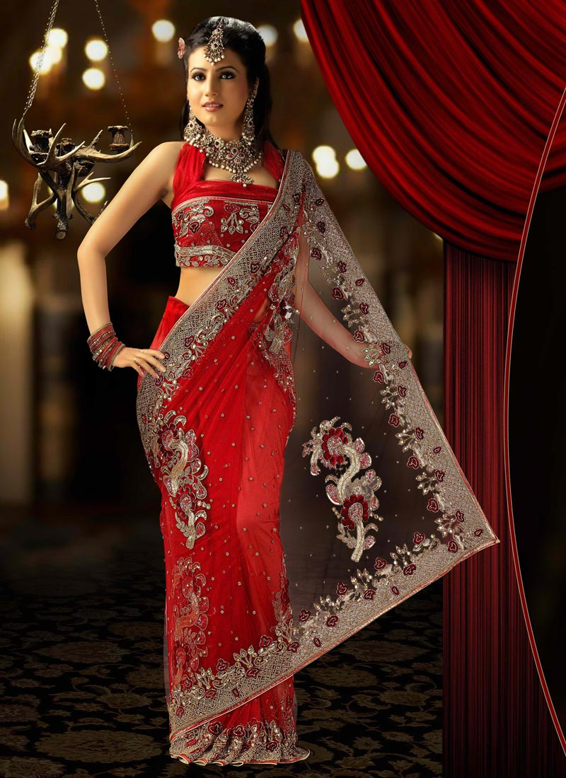 Bridal Saree Indian Bridal Saree Bridal Party Wear