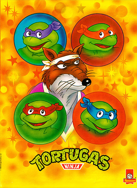 Póster Las Tortugas Ninja nº 12