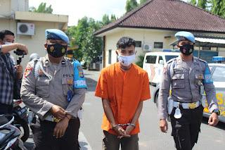 Tim Puma Polres Lombok Barat Berhasil Membekuk Pelaku Jambret Yang Meresahkan Masyarakat