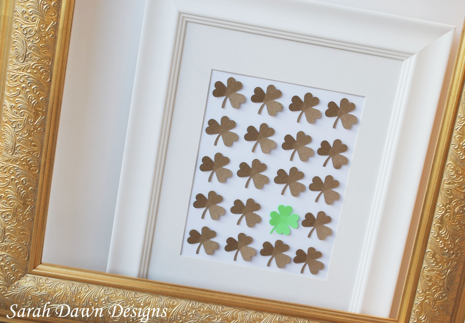 Sarah Dawn Designs St Patrick's Day Craft