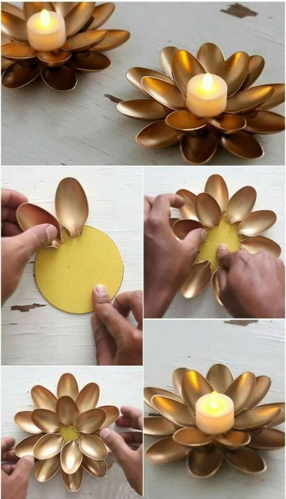 Easy crafts to use as a candle holder
