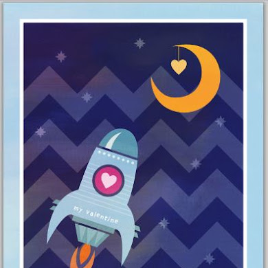 Free Printable Valentine's Day Postcard for Little Guys