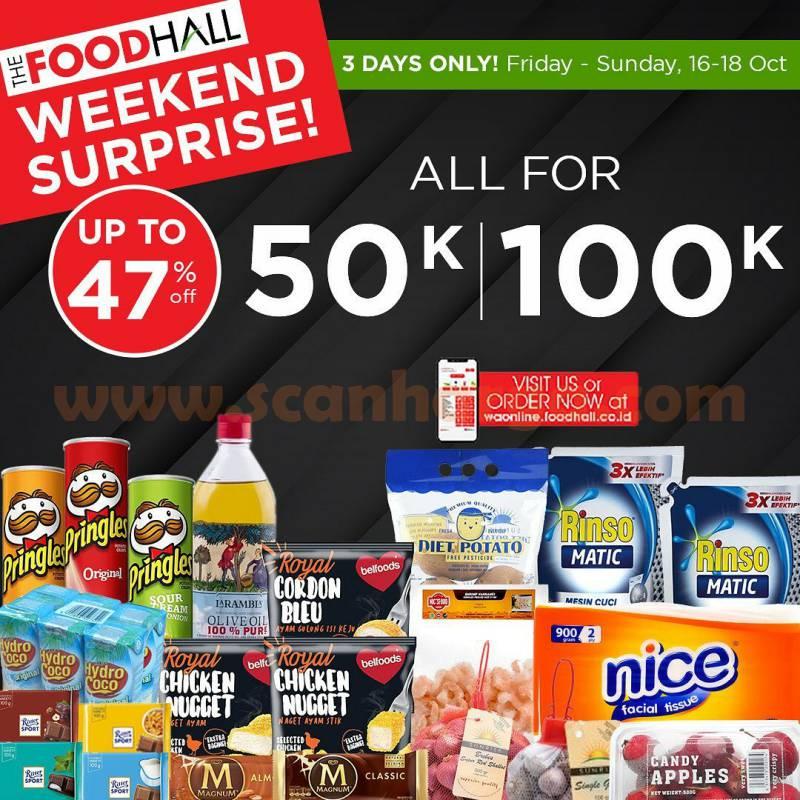 Promo JSM Foodhall Weekend Surprise Periode 16 - 18 Oktober 2020