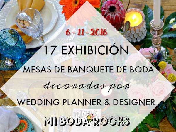 Exhibición Mesas Wedding Planner MBRE Sevilla