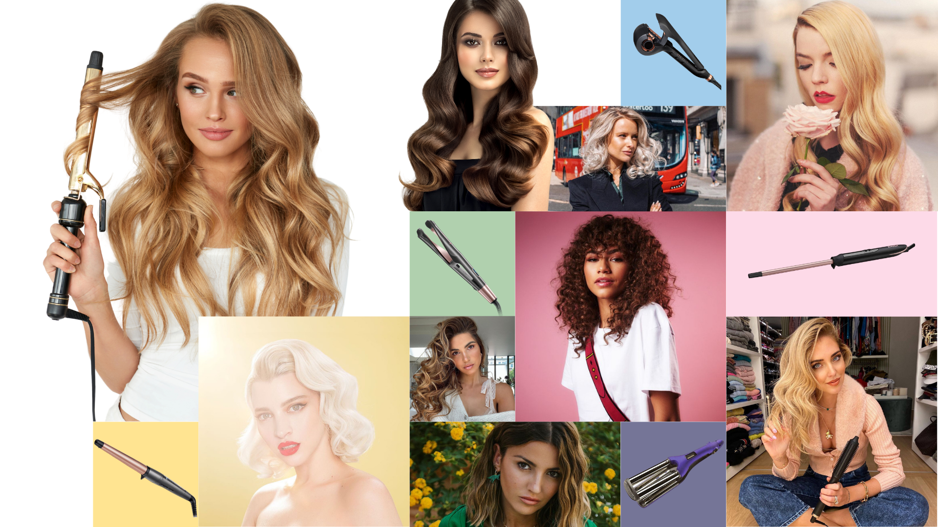 El rizador de cabello que necesitas para cada tipo de onda