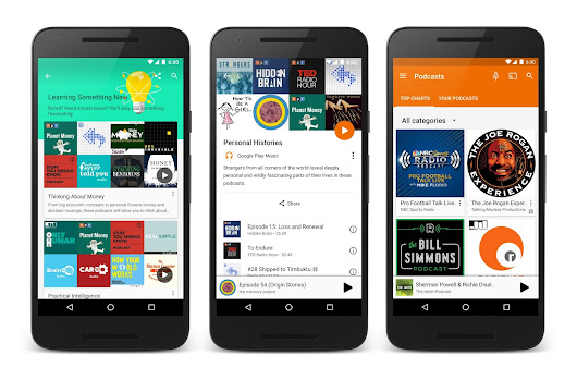 Official Android Blog: Welcome to Google Play Music, the podcast episode