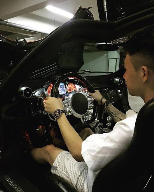 Đại gia trẻ bên trong chiếc siêu xe đắt đỏ nhất Việt Nam