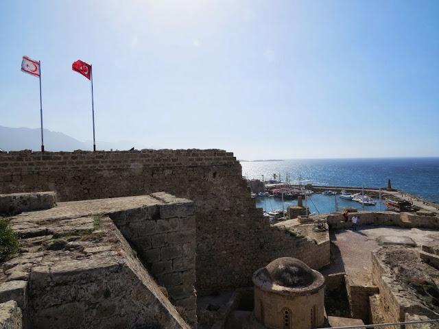 North Cyprus Day Trip: Kyrenia Castle walls