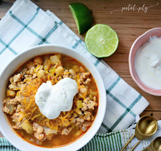 pineapple chicken chili