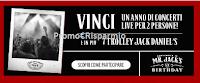 Logo Festeggia Mr. Jack 2017: vinci i tuoi concerti e trolley Jack Daniel's