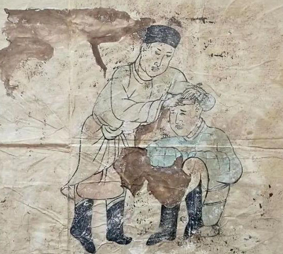 Ancient tomb with murals discovered in north China