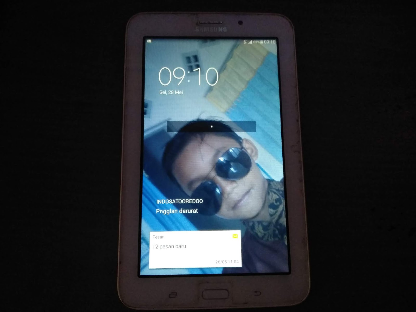 Bypass Pin Pola Samsung Galaxy Tab 3V