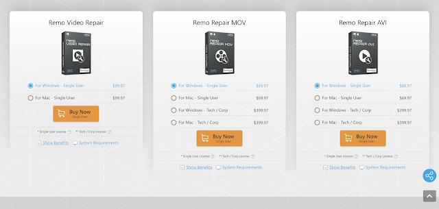 【攝影實驗室】影片修復軟體 Remo Repair MOV,救回原不屬於你的檔案 - Remo Video Repair 支援更多影片格式修復