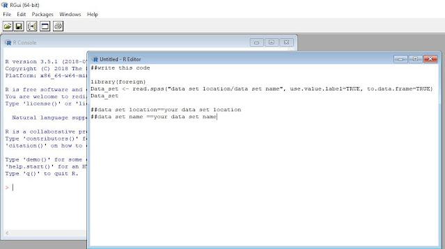 r data editor