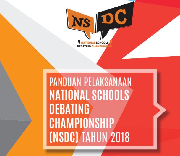 Panduan Lomba Nasional School Debating Championship Tahun 2018