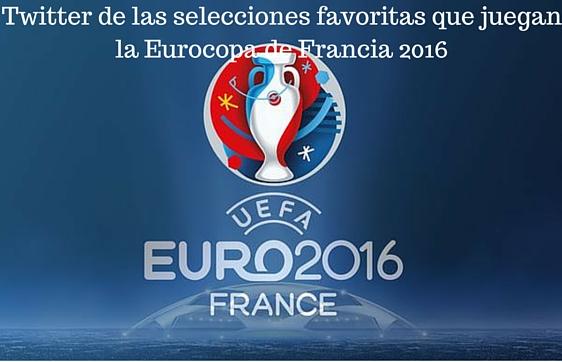 Twitter, eurocopa, Selección española, Selecciones, Francia, 2016,