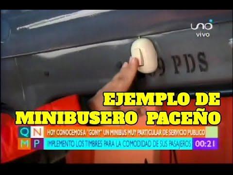CHÓFER PACEÑO REACONDICIONA SU MINIBÚS PARA UN MEJOR SERVICIO