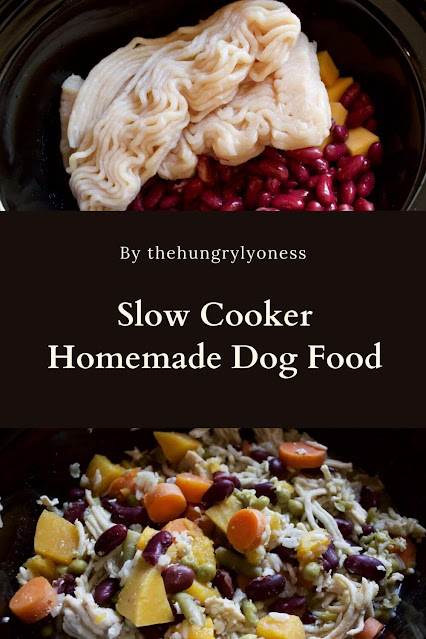 Slow Cooker Homemade Dog Food