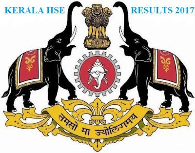 Kerala HSE Result 2017