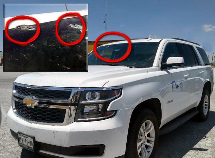 Montados en trocas marucheros del Cartel del Golfo emboscan y rafaguean a Secretaria de Salud en Tamaulipas