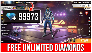 Free fire diamond hack, is it true that diamond free fire can be generated from Freefirediamondhack.com
