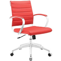 Modway Jive Chair In Red