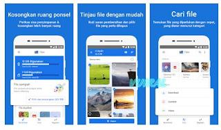 Files Go by Google: Bersihkan ruang di ponsel Anda