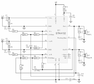 STK 4132 PCB PDF