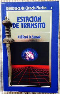 Portada del libro Estación de tránsito, de Clifford D. Simak