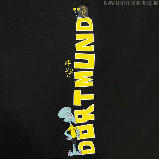 Strategic Partnership Announced Borussia Dortmund Releases First Spongebob Squarepants Lifestyle Collection Footy Headlines