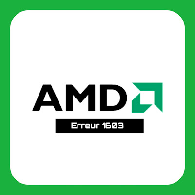 كيفية إصلاح مشكلة  AMD Error 1603 Driver  مثبت جزئيا