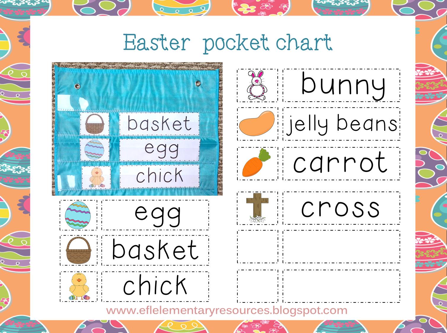 Efl Elementary Teachers Easter For Elementary Ell