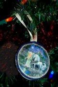Lost angel ornament