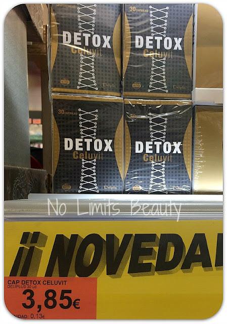 Cápsulas Detox Celuvit