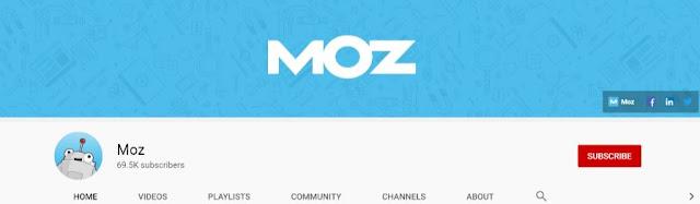 moz youtube channel best seo videos rank fishkin whiteboard friday