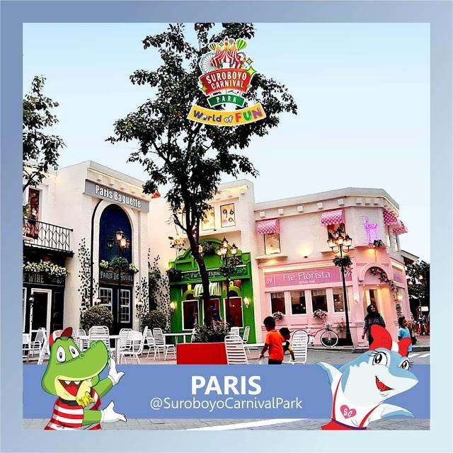 Zona Paris Suroboyo Carnival Park