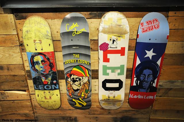 Lockhart board company carlos leon skateboards