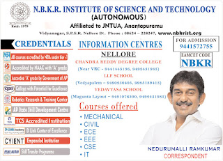 nbkr institute of science and technology vidyanagar