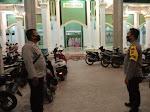 Cegah Pelaku Curanmor, Polisi Amankan Shalat Tarawih di Wilkum Polsek Langsa Timur